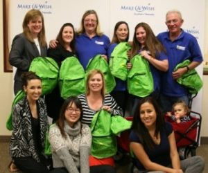 MAKE A WISH FOUNDATION BACKPACK SUPPORT