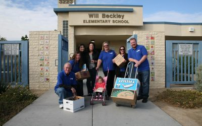 WILL BECKLEY ELEMENTARY TEACHING SUPPLY IN KIND DONATION